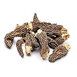 Slofoodgroup Dried Morel Mushrooms (Morchella Conica) Gourmet Morel Mushrooms (15 Morel Mushrooms)