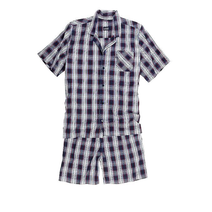 Jockey - Pijama - Cuadrados - para Hombre Stonewash Small