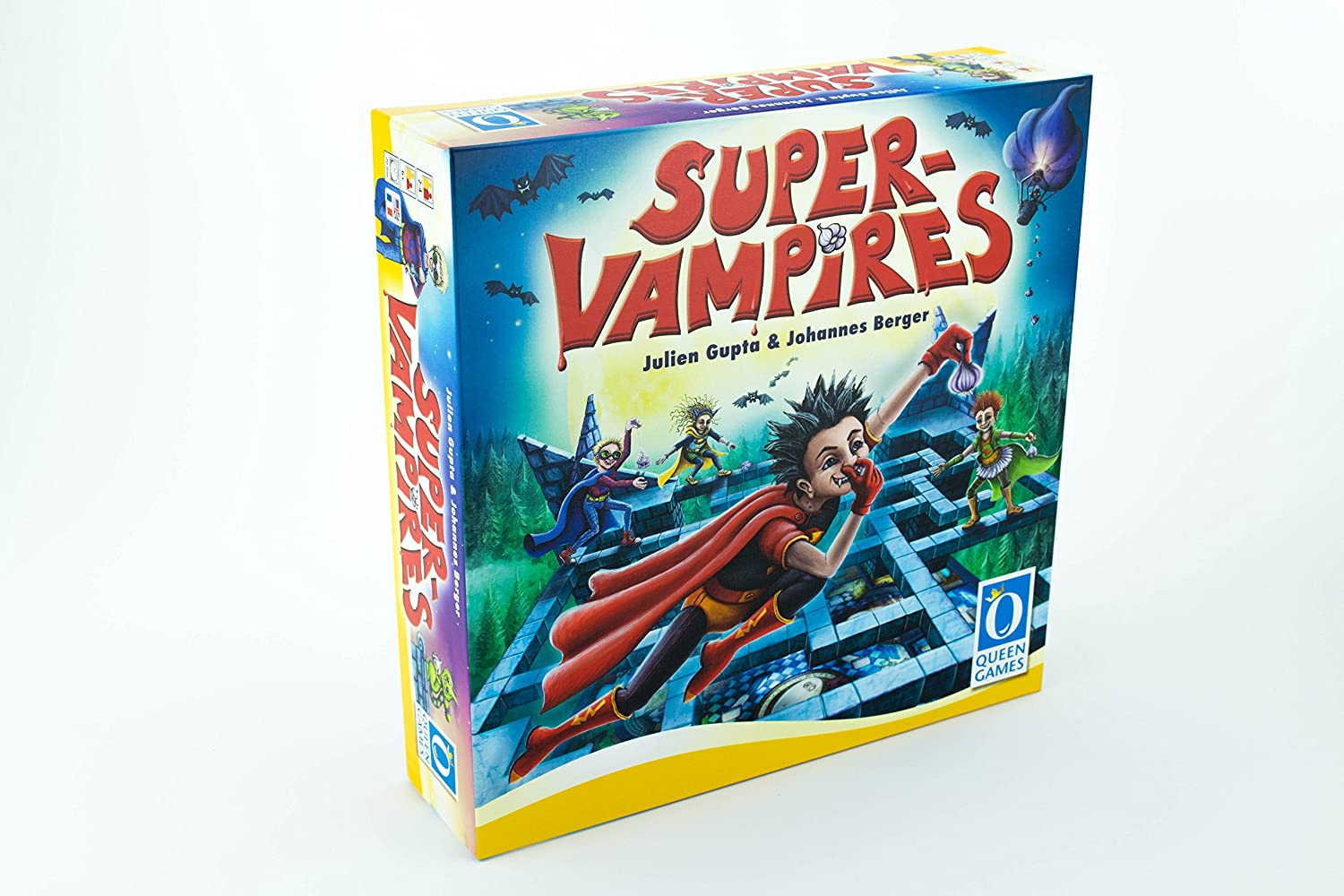 Amazon.com: Super-Vampire Board Game: Toys & Games