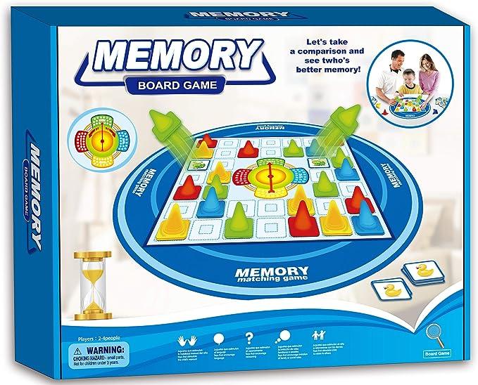 Neo- Memory: Destapa y GANA Juego de Memoria, Multicolor (5055): Amazon.es: Juguetes y juegos