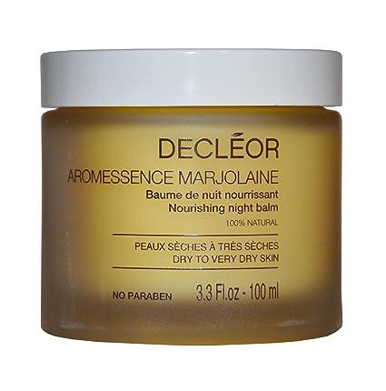 Decleor - Aromessence Marjolaine Nourishing Night Balm (Dry to Very Dry Skin) -15ml/0.5oz Aroma Crystal Aroma Crystal Vibrational Therapy Facial Cream, 1.8 oz