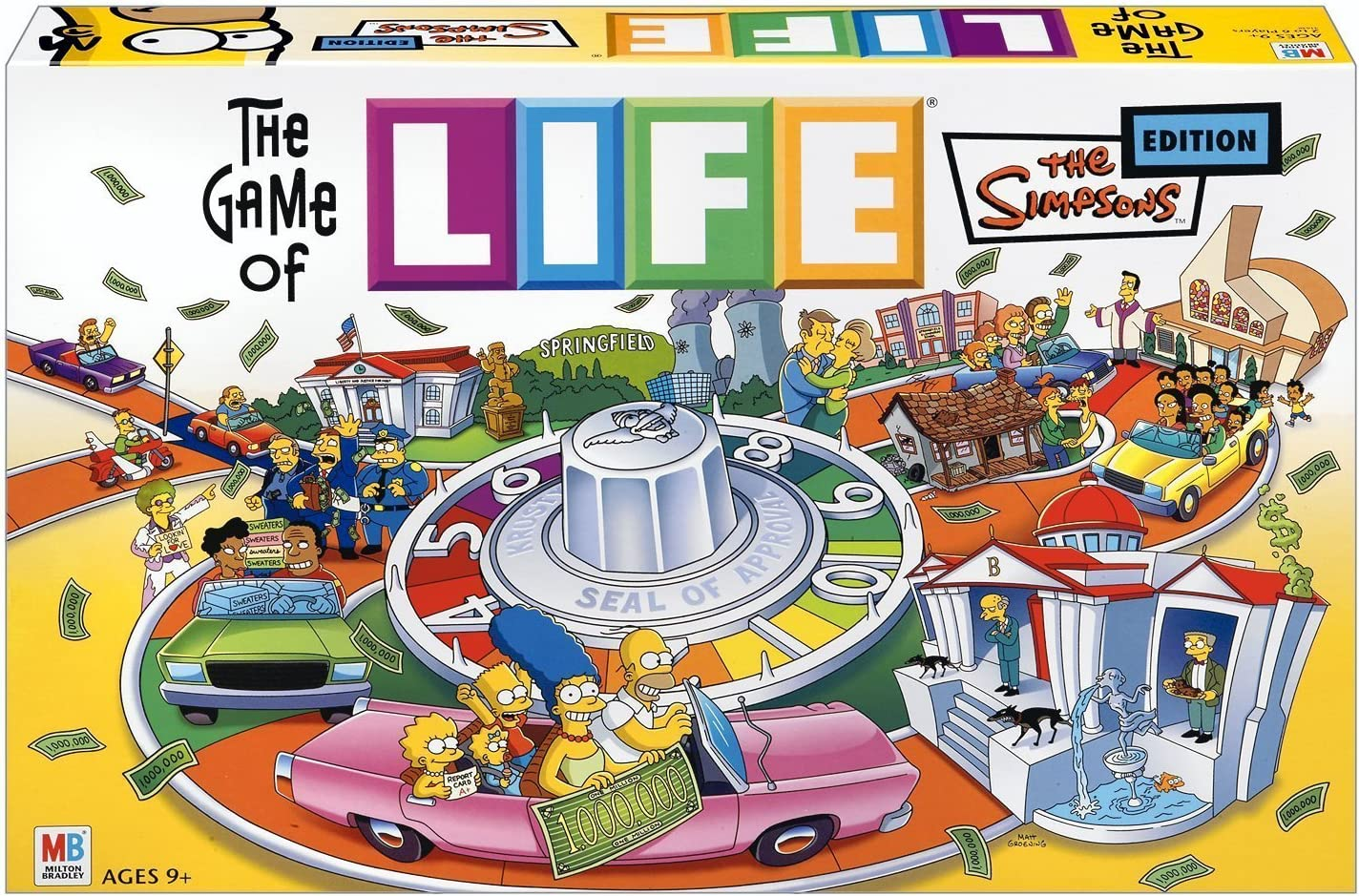 Hasbro The Game of Life - Simpsons Edition: Amazon.es: Juguetes y ...