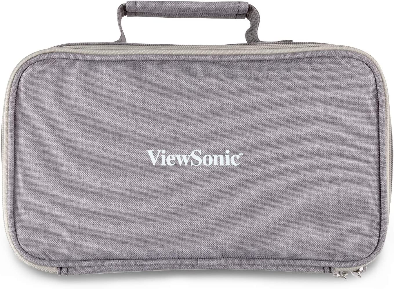 ViewSonic PJ-CASE-010 Zipped Soft Padded Carrying Case for M1 Projector Gray: Electronics