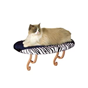 "K&H Pet Products Kitty Sill (Unheated) Zebra 14"" x 24"""
