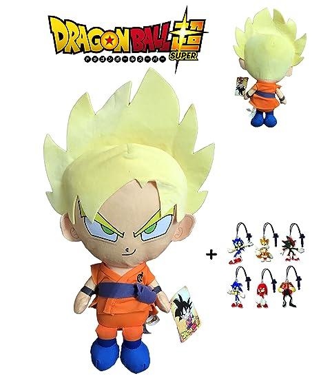Dragon Ball Super - Peluche Goku Super Saiyan, pelo rubio ...