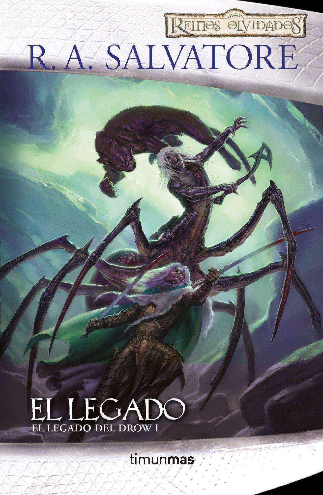 el elfo oscuro saga