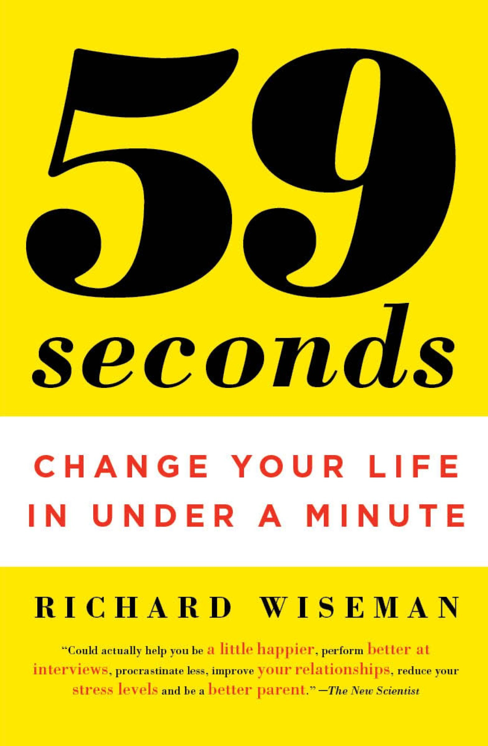 59 Seconds Richard Wiseman Ebook