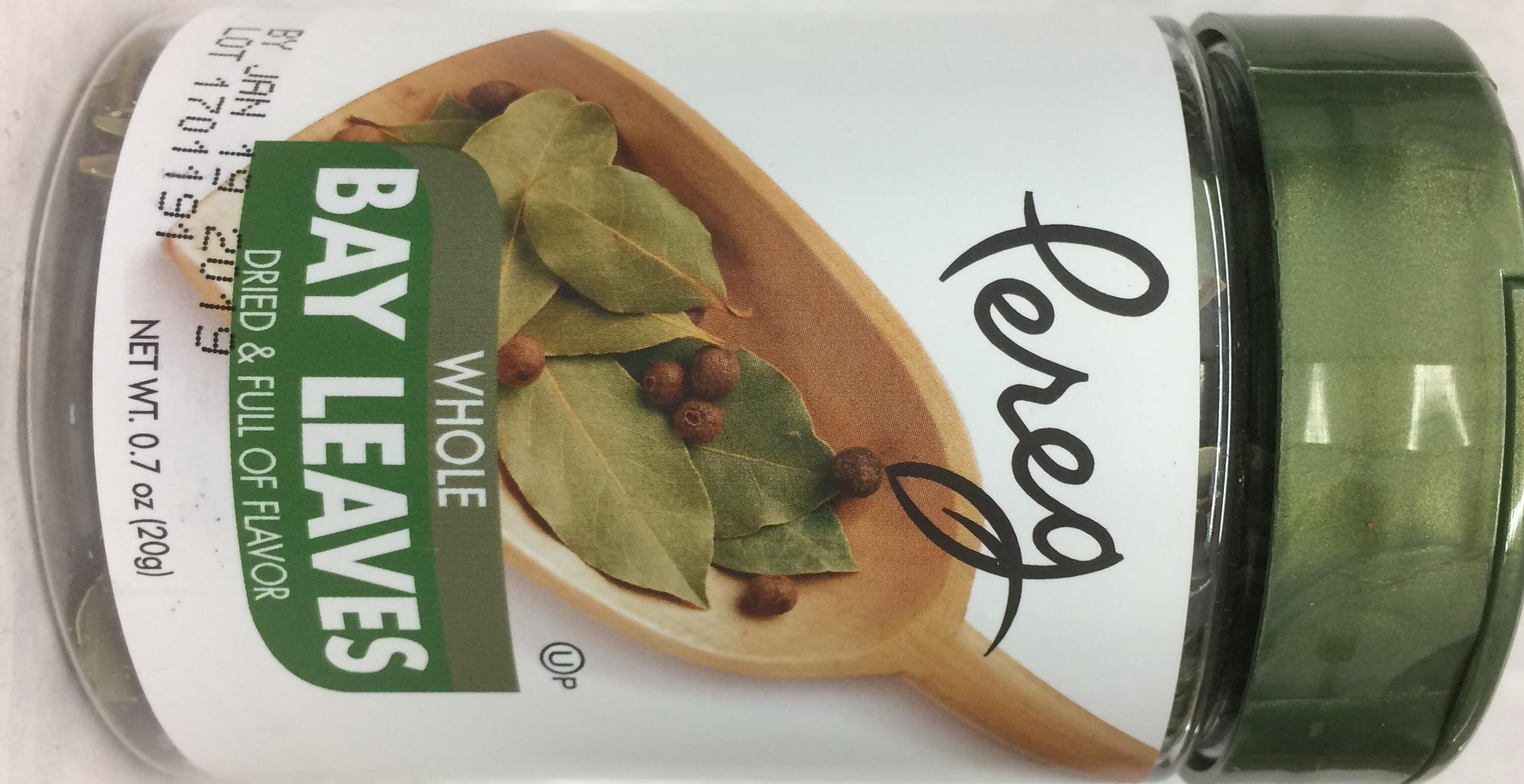 Pereg Whole Bay Leaves Kosher For Passover 0.7 Oz. Pack Of 1.
