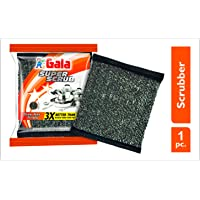 Gala Super Scrub Set (Black, 1 Piece)