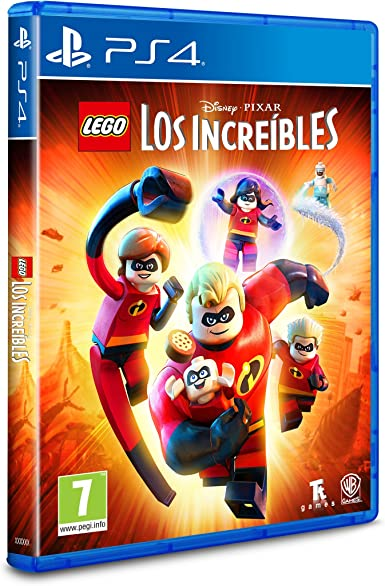 LEGO Los Increibles - Edición Exclusiva Amazon - PlayStation 4: Amazon.es: Videojuegos