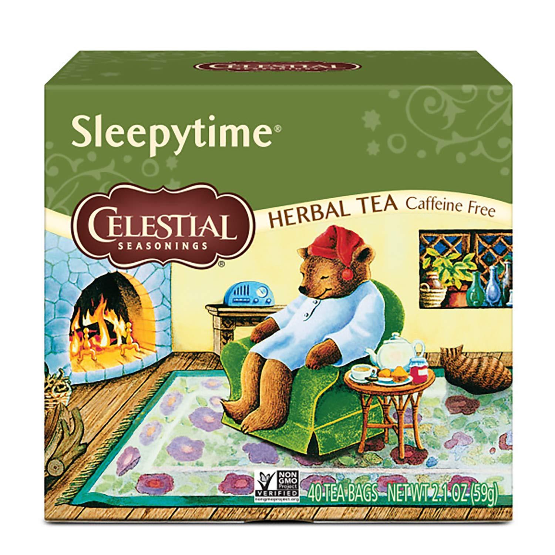 Celestial Seasonings Herbal Tea, Sleepytime, 40 Count