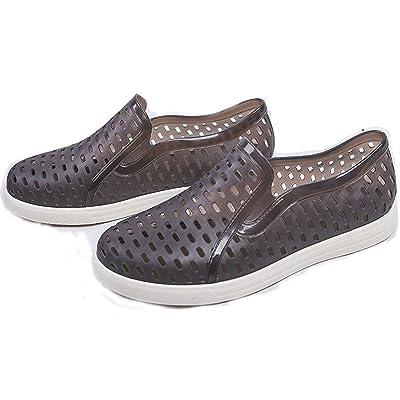 Luise Hoger Unisex Ankle Arrival Rain Boots Flat Shoes Woman Rain Woman Water Rubber Ankle Boots Air Botas Plus Size 36-44 Brown 10