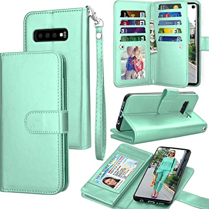 Amazon.com: Tekcoo - Funda para Samsung S10 Plus (piel ...