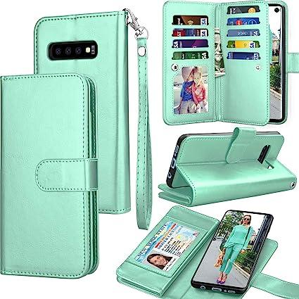 Amazon.com: Tekcoo - Funda para Samsung S10 Plus (piel ...