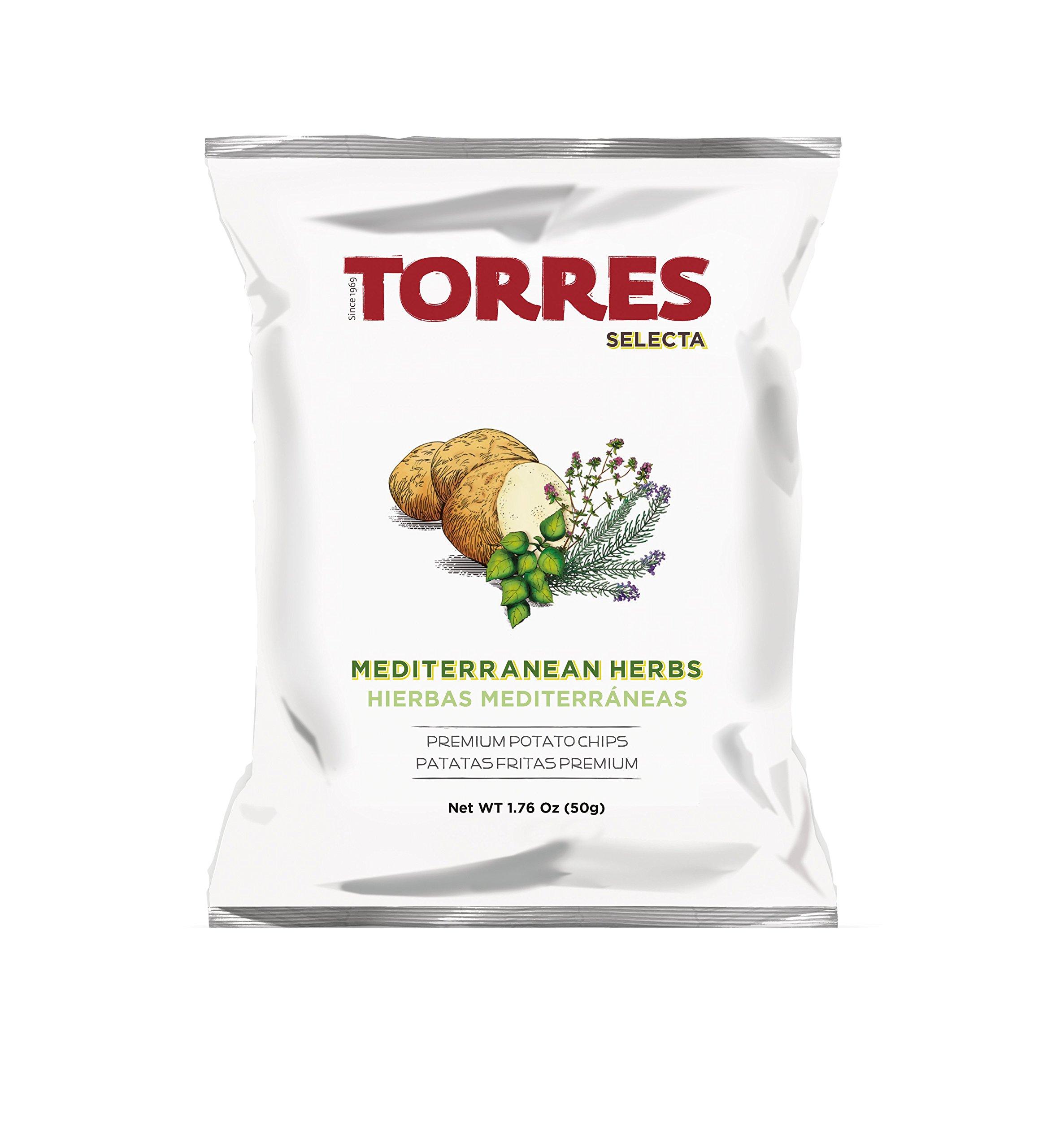 Torres Mediterranean herb potato chips 50gX20