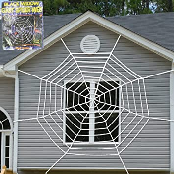 halloween decorations props super stretch spider web halloween decor decorations outdoor yard spider web