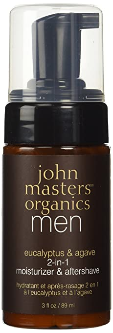 John Masters Organics Moisturizer & Aftershave Eucalyptus & Agave 2-in-1