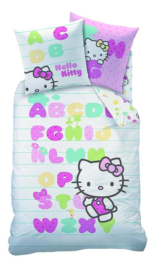 CTI Hello Kitty 041819 Abecedaire de Funda de edredón 140 x ...