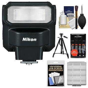 Amazon.com: Nikon SB-300 AF Speedlight flash con baterías y ...