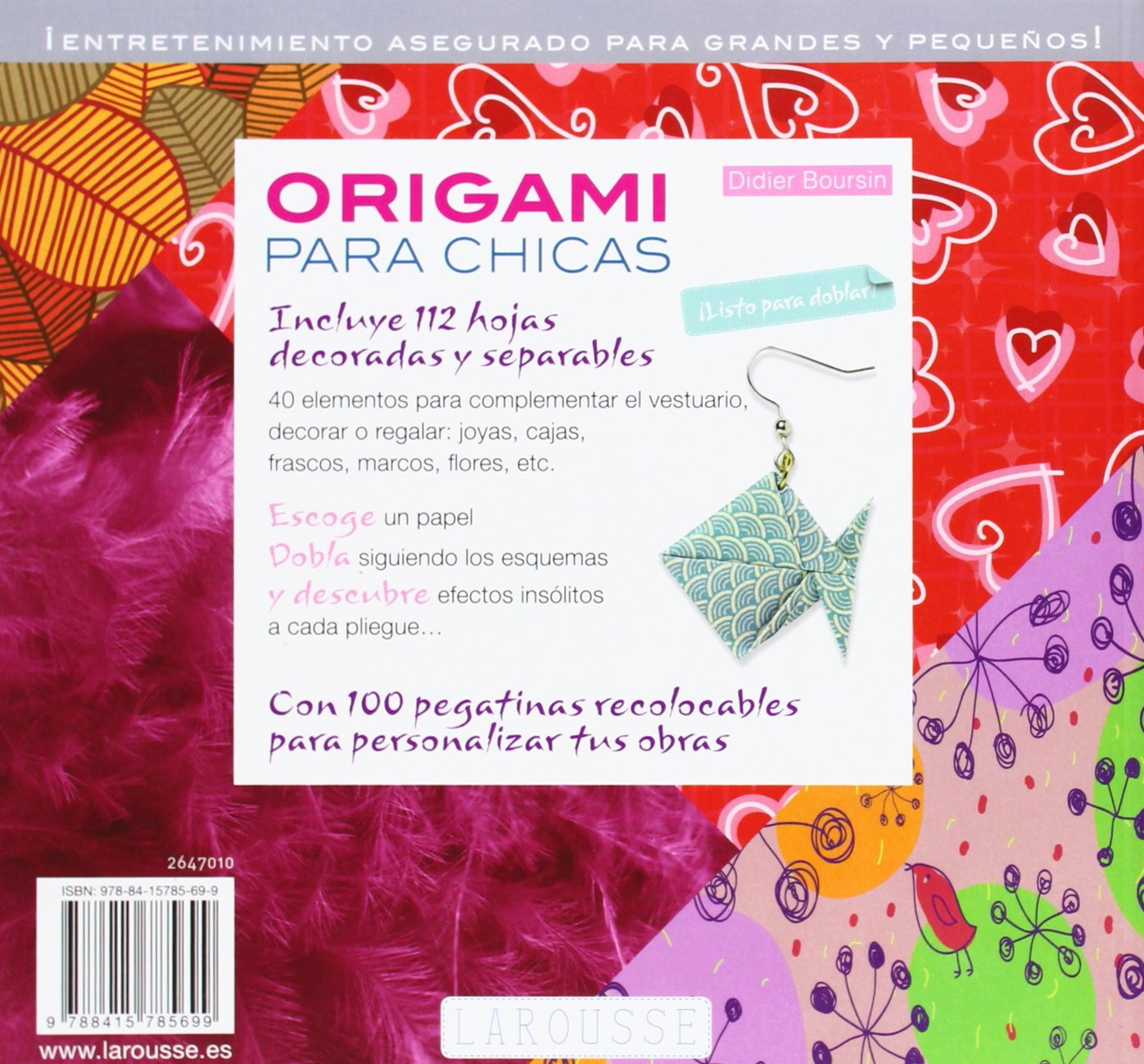 Origami para chicas / Origami for Girls (Spanish Edition): Didier Boursin, Francesc Reyes Camps: 9788415785699: Amazon.com: Books