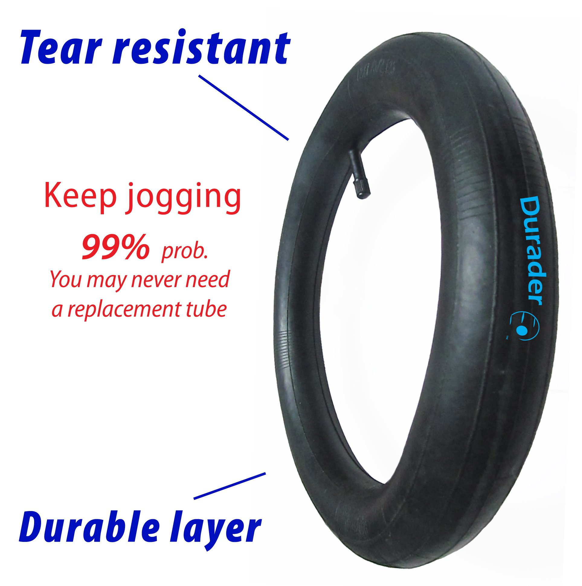 Durader FastAction Jogger- Fern (front tube) by Lineament (Image #2)