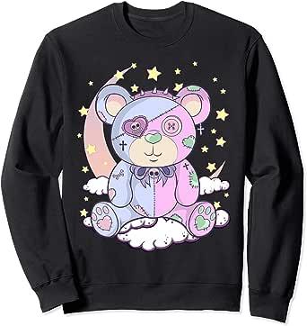 Amazon.com: Pastel Goth Teddy Bear Japanese Anime Kawaii ...