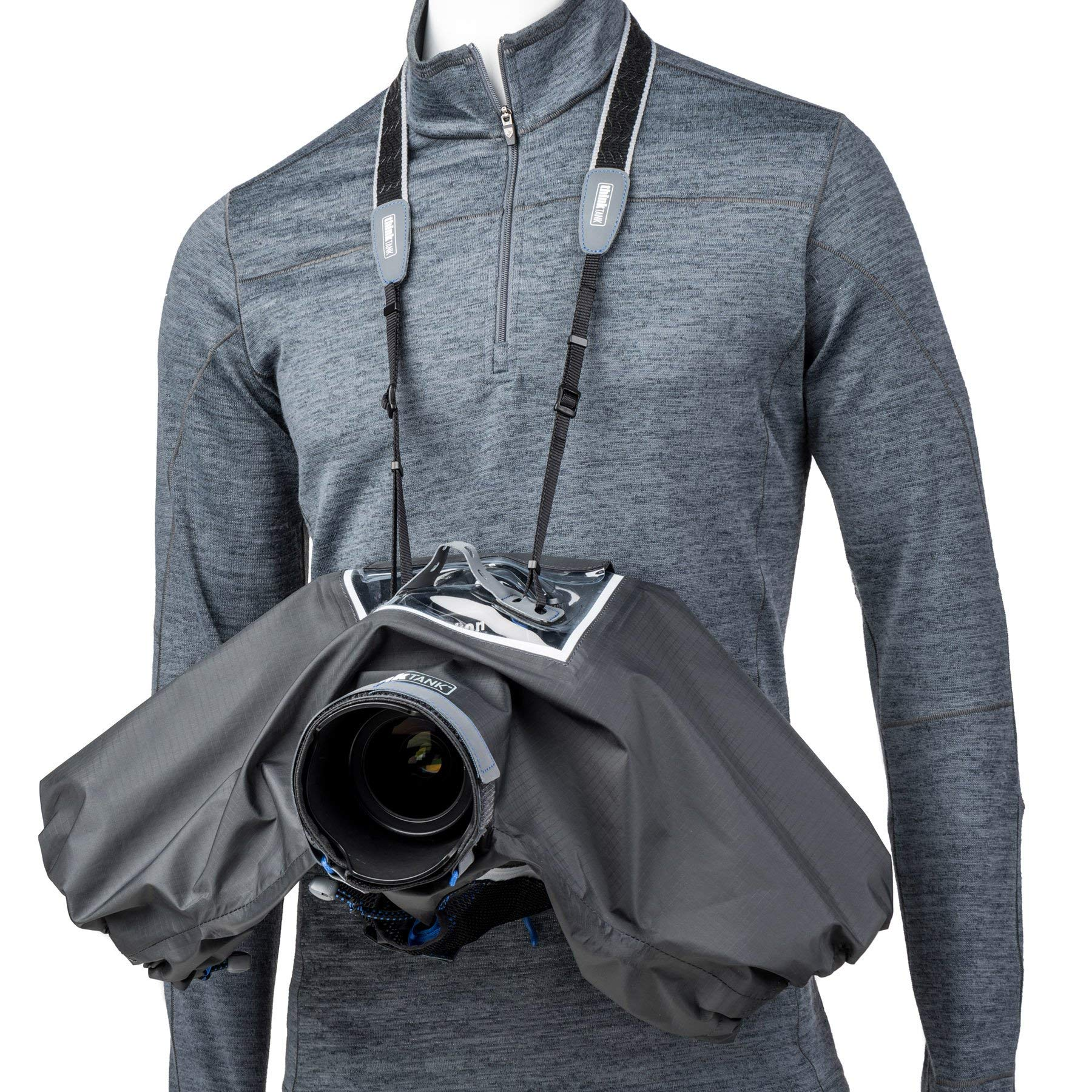 Think Tank Photo Hydrophobia D 24-70 V3 Camera Rain Cover for DSLR Camera with 24-70mm f/2.8 Lens by Think Tank (Image #6)