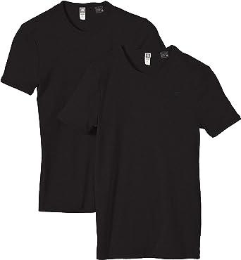 G-Star Base 2-Pack - Camiseta de Manga Corta con Cuello Redondo ...