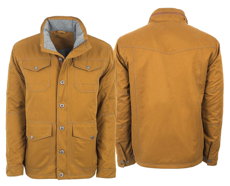 STS Ranchwear Mens Fieldsman Jacket Lined khaki Large Carroll Companies Inc STS8044L