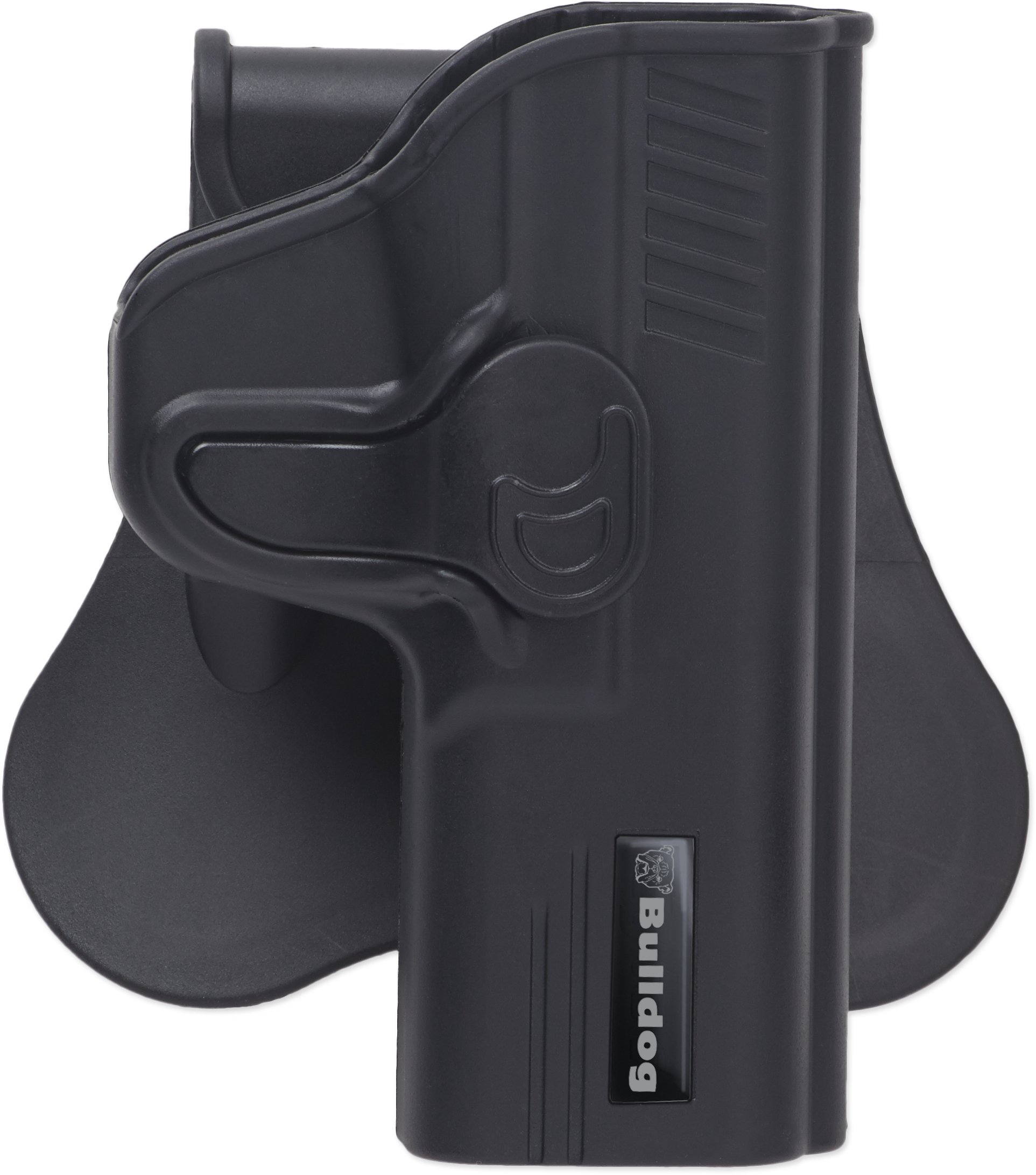 Bulldog Cases Rapid Release Polymer Holster (Fits S&W Bodyguard .380), Black by Bulldog Cases
