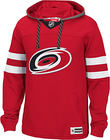 Carolina Hurricanes Jersey Lace-Up Pullover Hoodie