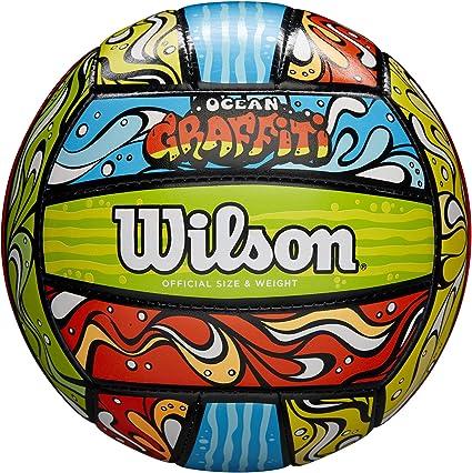 Wilson WTH40119XB Unisex-Adult, Azul/Naranja/Verde, Tamaño Oficial ...