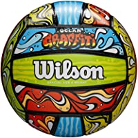 Wilson Graffiti Volleyball - Green/Orange/Blue (WTH40119ID)