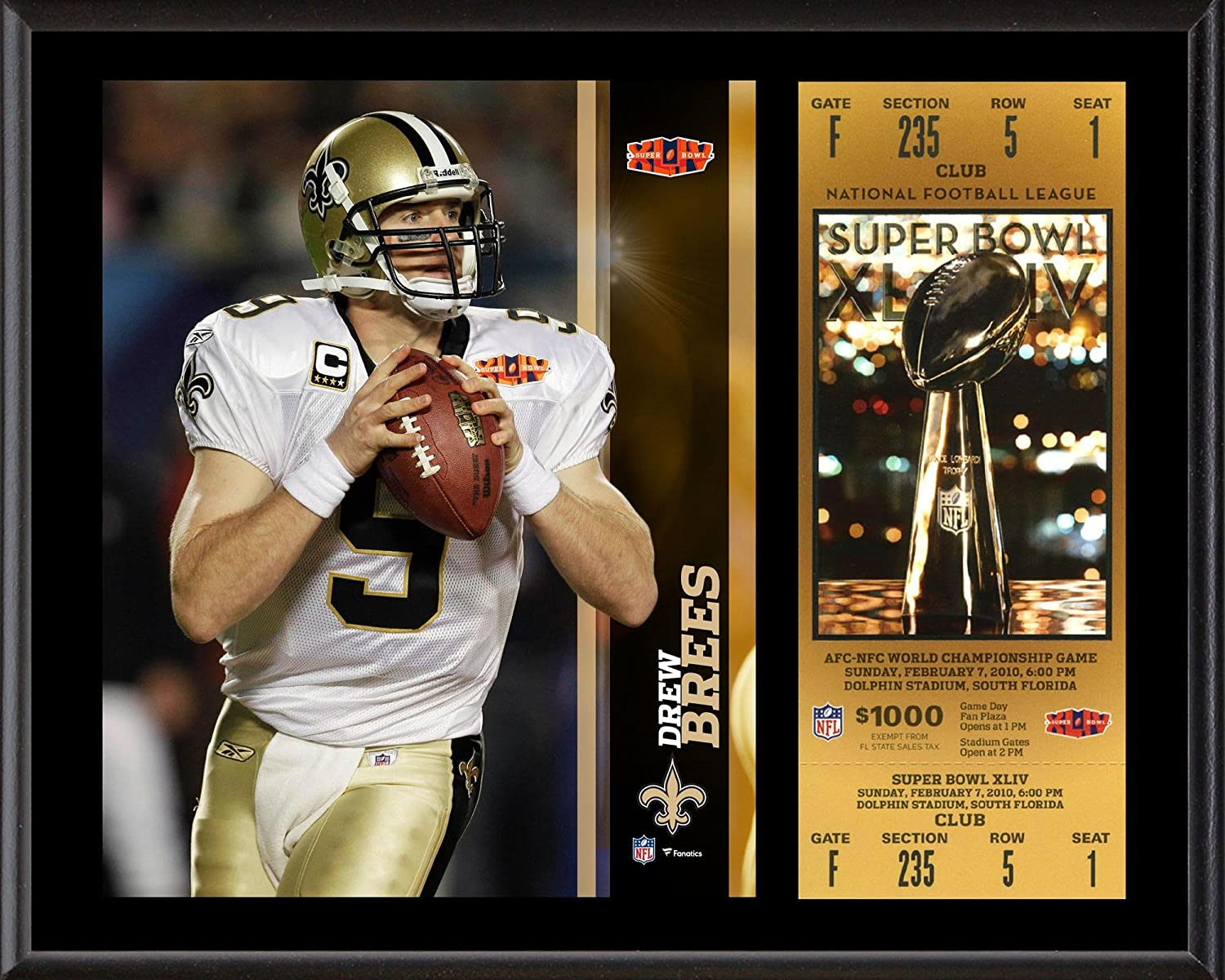 on sale 6df6b 6692c Drew Brees New Orleans Saints 12