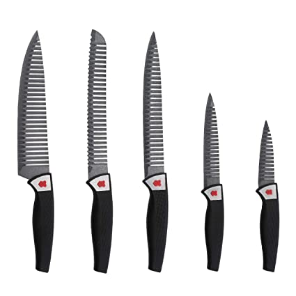Compra Renberg Set de de 5 Cuchillos de Acero Inoxidable en ...