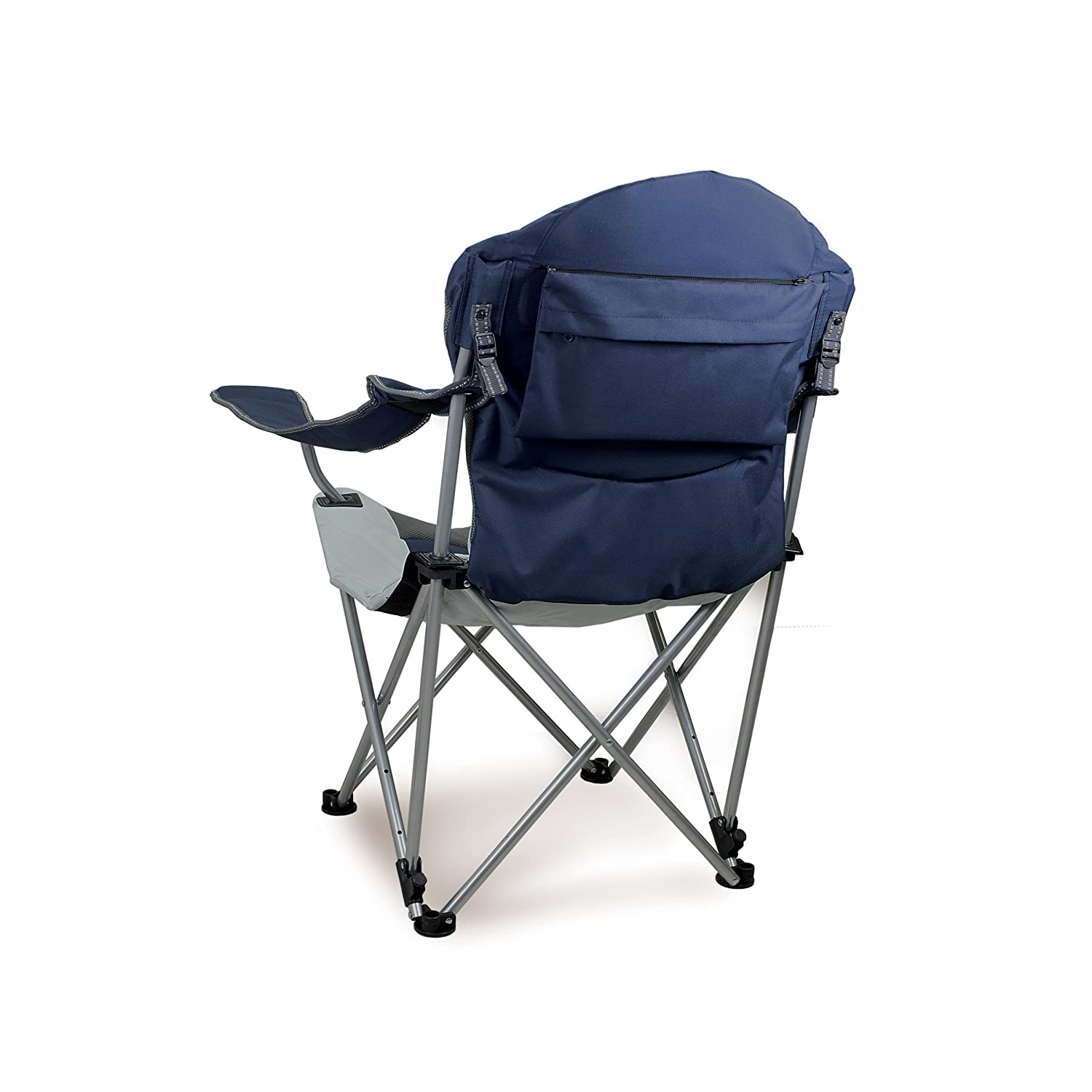 Amazon Picnic Time Portable Reclining Camp Chair Navy