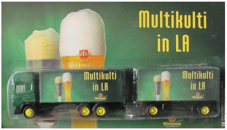 Wittmann Landshut Nr.03 - Multikulti in LA - Scania - Hängerzug Hümmer