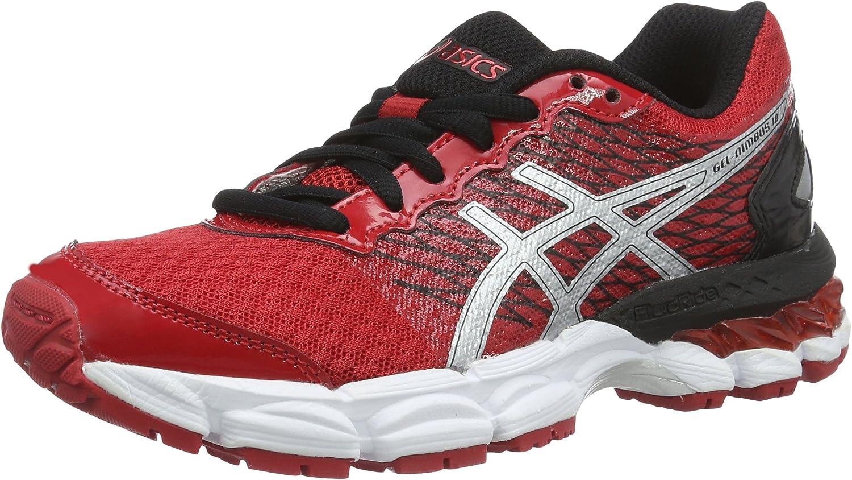 Asics Unisex - niños Gel-Nimbus 18 GS Zapatos de Entrenamiento de Carrera en Asfalto Rojo Size: 33.5 EU: Amazon.es: Zapatos y complementos