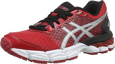 Asics Gel-Nimbus 18 GS - Zapatillas de Running Unisex para niños Rojo Size: 34.5 EU: Amazon.es: Zapatos y complementos
