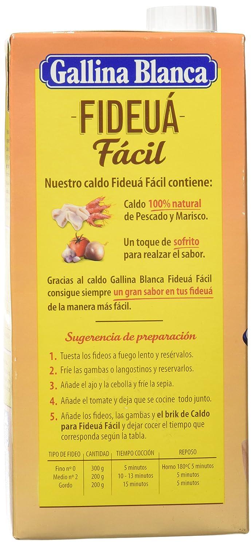 Gallina Blanca Caldo para Fideuá Fácil - 1 Kg: Amazon.es: Amazon ...