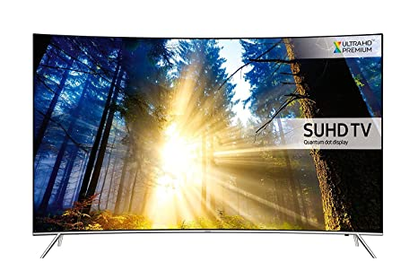 f7d159dea37 Image Unavailable. Image not available for. Colour  Samsung UE55KS7500 55  Inch Curved SUHD 4K Ultra HD HDR Quantum Dot Smart TV ...