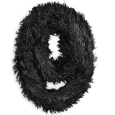 793e49cd15e Allée du foulard Snood PILOU Noir  Amazon.fr  Vêtements et accessoires