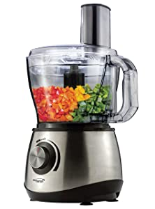 Brentwood Select FP-581 8-Cup Food Processor, Stainless Steel