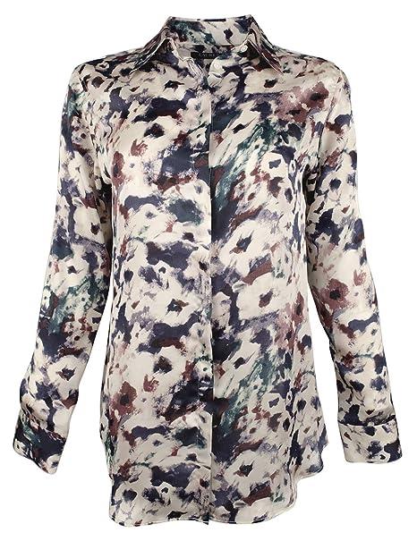 d912b91c Image Unavailable. Image not available for. Color: LAUREN RALPH LAUREN  Womens Plus Kristy Printed Button-Down ...
