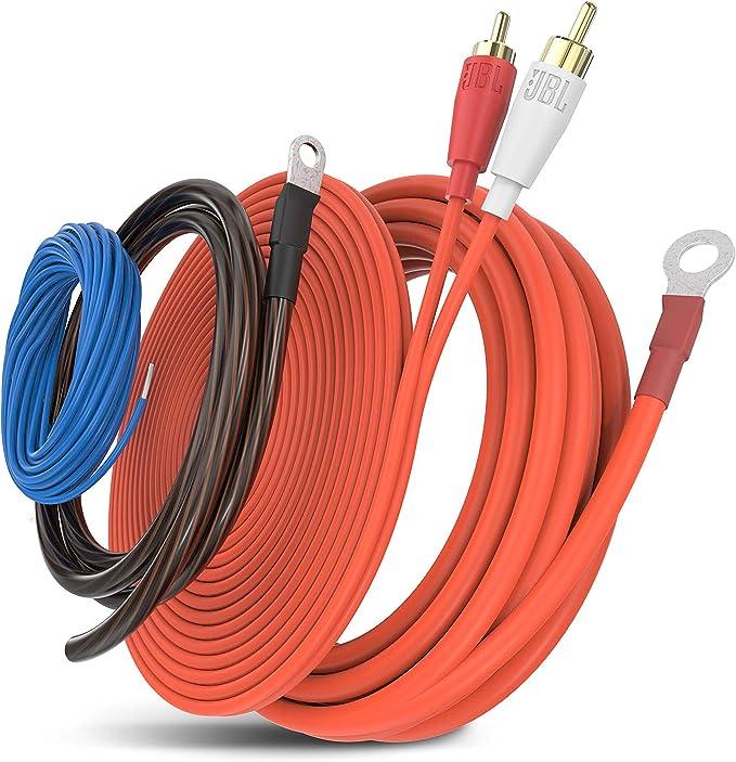 Jbl Stage Ak 82ca 10mm Auto Carhifi Chinch Stromkabel Kabel Set Für Endstufe Subwoofer Wiring Kit Navigation