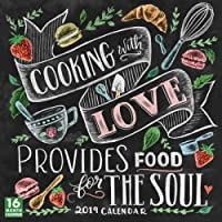 2019 Cooking with Love Provides Food for the Soul 16-Month Wall Calendar: by Sellers Publishing, 12x12 (CA-0423)