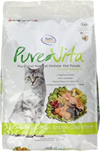 Purevita Grain Free Duck Cat Food 15Lb