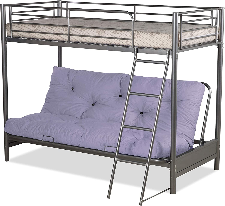 Humza Amani Futon Bunk Bed And With Pink Futon Mattress Top Mattress At Extra Cost Amazon Co Uk Kitchen Home