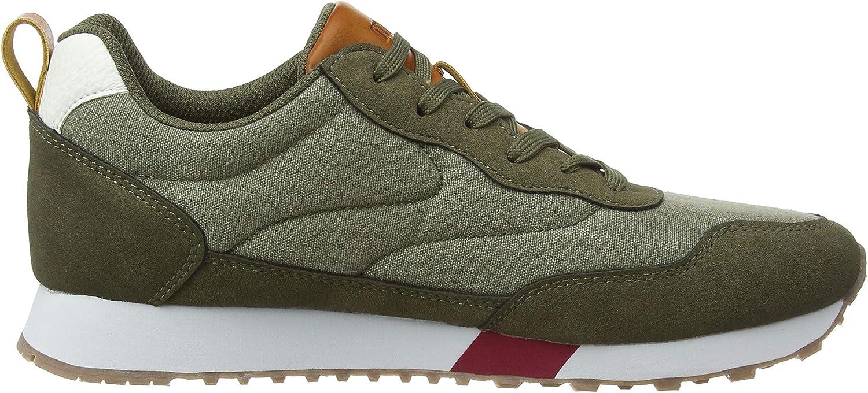 MTNG 84428, Sneakers Basses Homme Vert Cato Kaky C49013