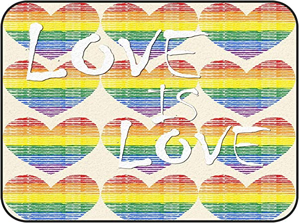 Beautiful Rainbow Colors Lines Area Rugs Bedroom Rug Living Room Round Floor Mat
